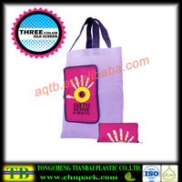 Printed nonwoven travel bags with new design