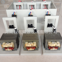 oil cooled industrial microwave parts magnetron power supply transformer 3x1000W