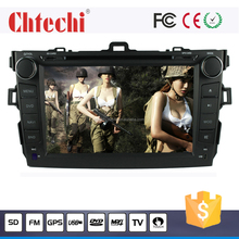 8 Inch Car DVD GPS Navigation for android car radio gps Toyota Corolla with am/fm music mp3 play