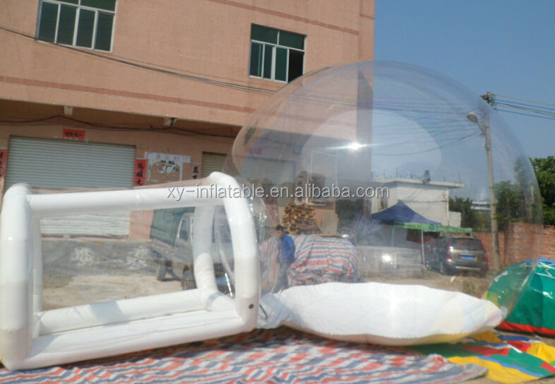 clear inflatable lawn tent, inflatable bubble tent,inflatable transparent tent