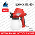 JS High effiency spray gun with water based paint 80W