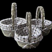 Willow wicker wine basket/hamper