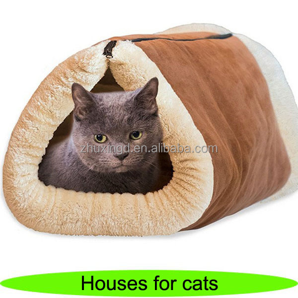Foldable houses for cats, wholesale cat houses, cute cat product