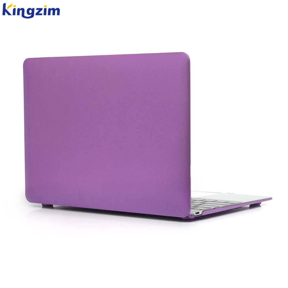 purple metal hard cover laptop case For Macbook pro 13 With Touch Bar