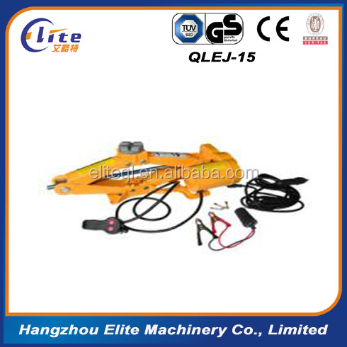 hot sale made in china Wire Line control Electric Scissor Car Jack With 1500kg Load