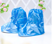 PVC waterproof overshoes breathable rain boot covers