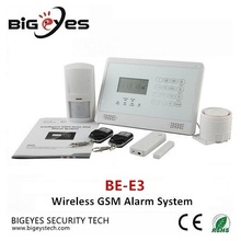 Hot sale PSTN/GSM/WIFI wireless home security alarm system