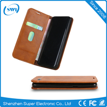 Stand pu leather case tpu leather case for iPhone