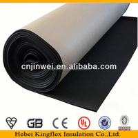 NBR PVC heat insulation sheet for building material with aluminum foil