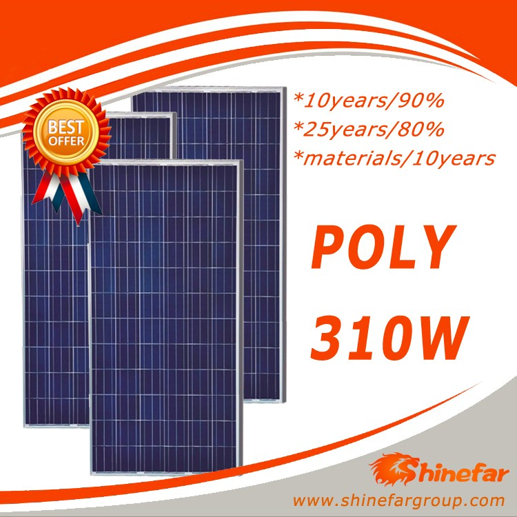cheapest solar panel pv module energy saving 310w poly solares paneles
