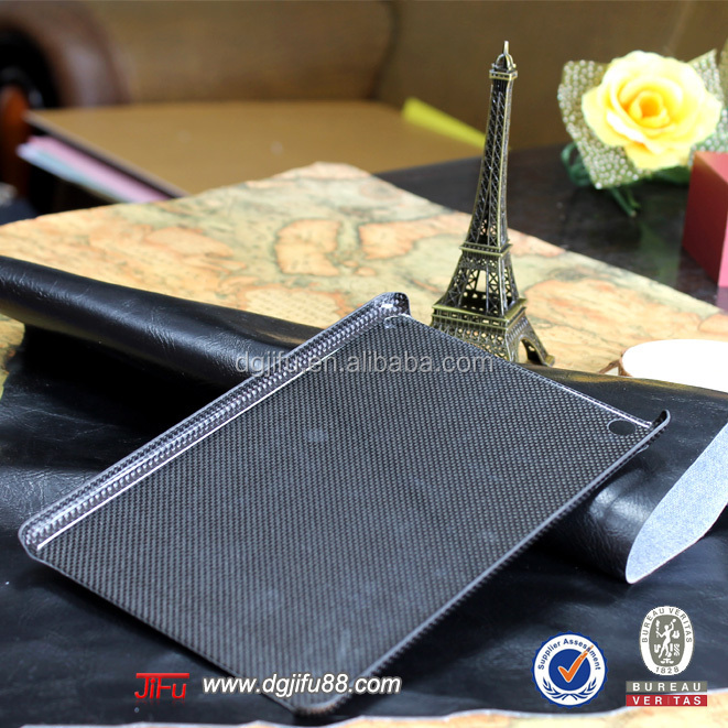China New Tablet Cases Genuine Luxury Carbon Fiber Back Cover for iPad mini 3, Carbon Fibre for iPad mini 3 Case