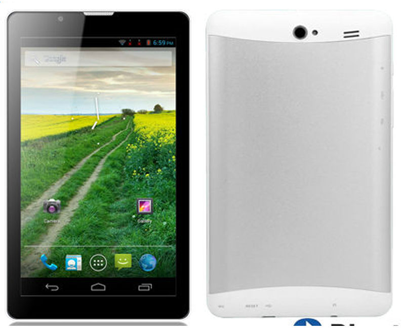 cheap 3g phone call android tablet pc with MTK6572 dual core 7inch