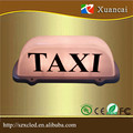 High brightness double side Yellow lamp or customized color car dome light box led TAXI roof lights /lamp