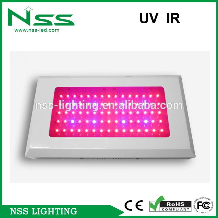 Guarantee 2 years high PAR CE FCC 3528 3w chip 630nm red led grow light