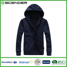 Jiangxi Textile Spring Autumn High Quality Fashion Hot sale Sweatshirt casual jacket coat with hat Mens Hoodies