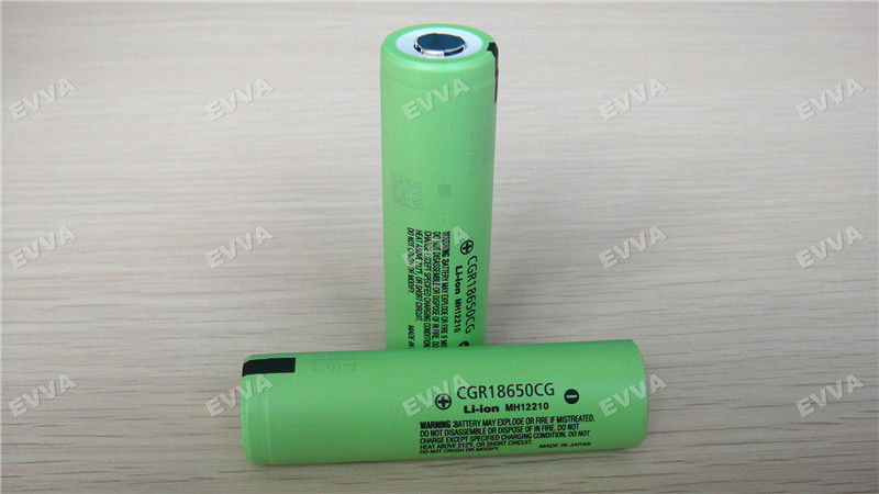 Rechargeable Lithium Battery Cell for Panasonic 18650 CGR18650CG 2250mAh