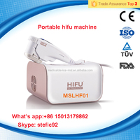 Portable hifu machine / high intensity focused ultrasound hifu for wrinkle removal / hifu face lift---MSLHF01S