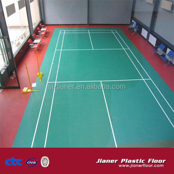 4.5mm thickness badminton court floor covering