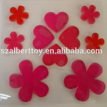 Flower Window Gel Stickers for holiday decoration