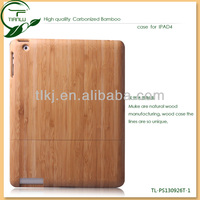 Good quality new design bamboo mobile phone case for Ipad 2