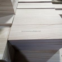 Solid Wood Board / Solid Paulownia Panel / Poplar Solid Wood