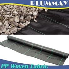 100% PP Woven Agriculture Ground Cover/Mulch Film/Weed Matl