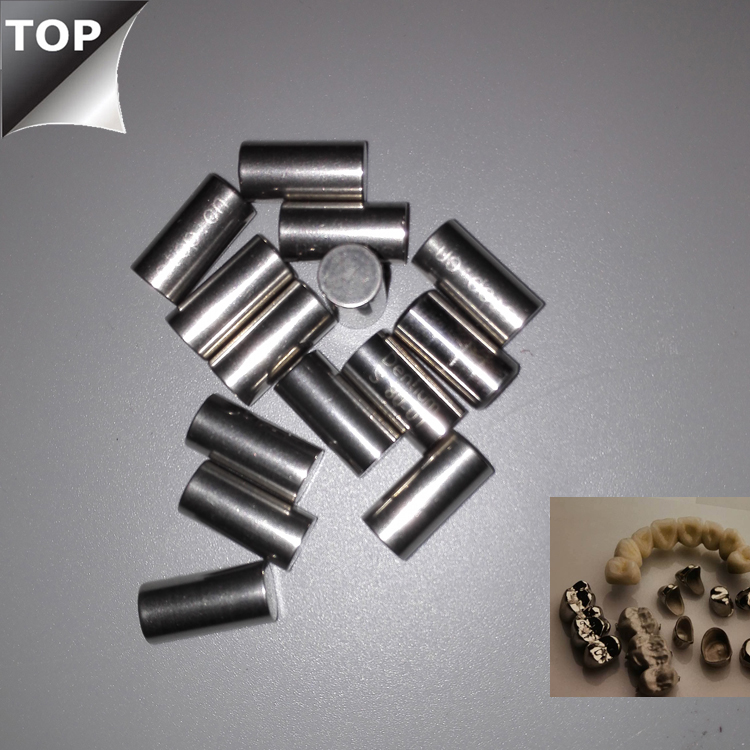 Chinese New material stellite CoCrMo cobalt-chromium dental metal alloy
