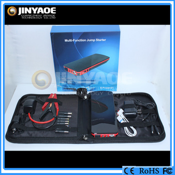car jump starter with universal external laptop battery charger