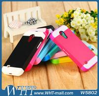 Protective Case 2 in 1 Detachable Silicone Case for Samsung Galaxy S4 Mini Hard Back Cover