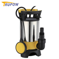 Stainless steel large flow Garden Submersible Pump for dirty water