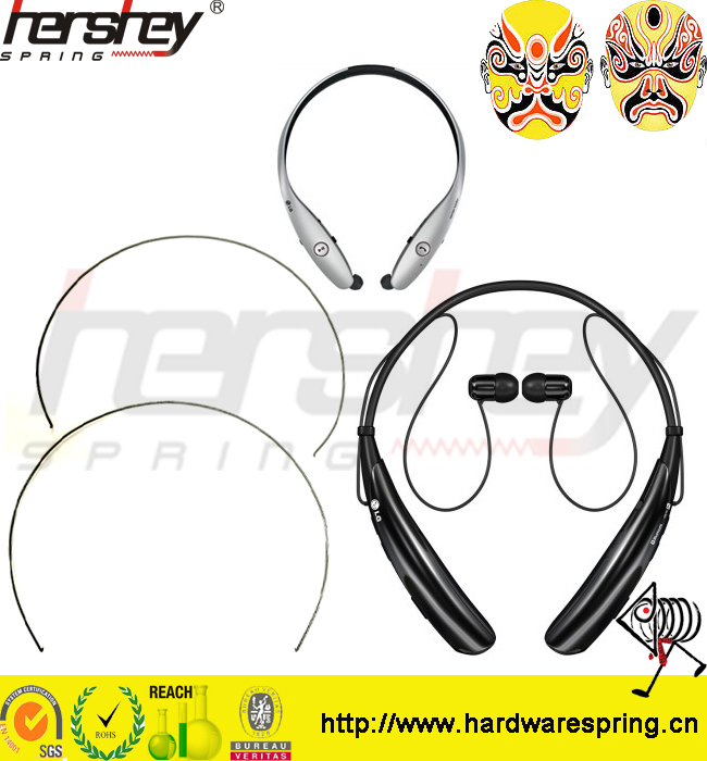 Alloy Memory Headphone Metal Wire Forming Springs factory