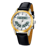 Azan watch of Muslim pilgrimage watch Islamic Prayer compass world makka time