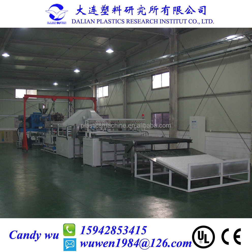 Plastic coil bed mattress production line