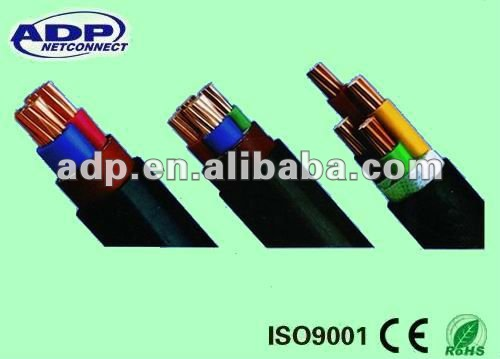 YJV XLPE insulated armored power cable