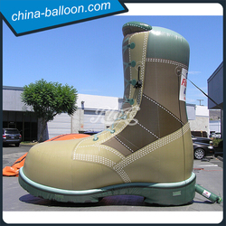 6M Inflatable Boots, Inflatable Shoes Shape Hot Customization