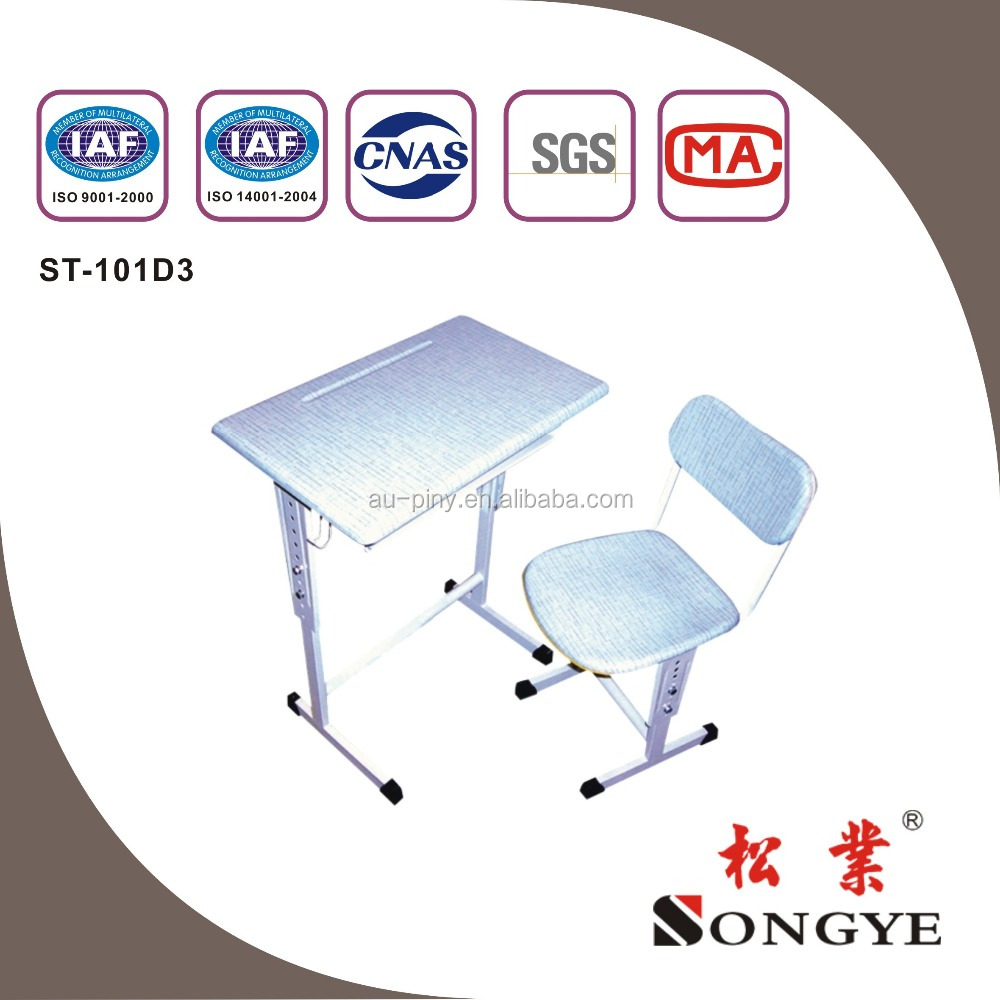 School Furniture Type and Commercial Furniture General Use school desk and chair