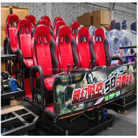 Realistic 9D Cinema Racing simulator game machine