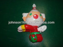 Nontoxic PVC Inflatable Christmas baby bear