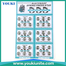 Wholesale SPRING Press Stud Buttons For Garment Use