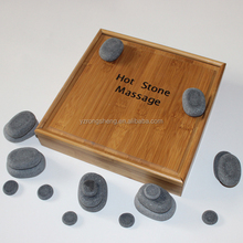 Chinese body health care physical therapy 23pcs Massage Stone Set /Basalt Hot Rocks Stones
