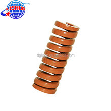 Coffe color compression Die spring for metal die-casting mold