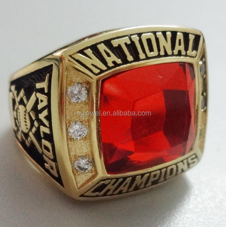 football league championship rings