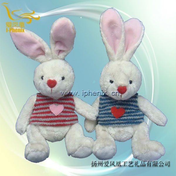 Plush & Stuffed Toys Bunny Rabbit with vest