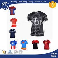 Factory short sleeve o neck free custom led design kids t-shirt wholesale