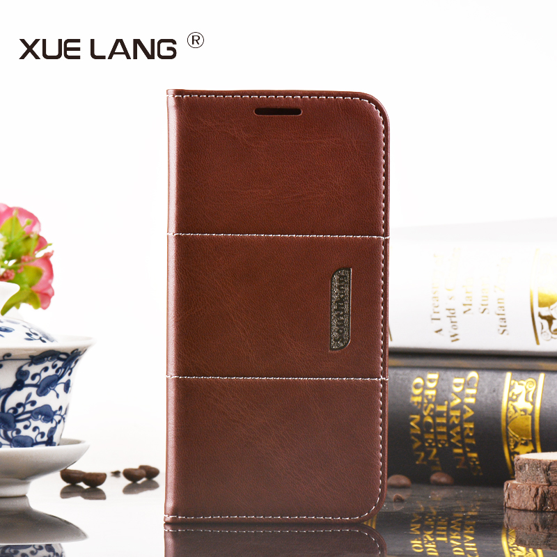 PU Leather Material Flip Magnetic Wallet Phone Case For iPhone 5 5s 6 6s Plus For Samsung S6 Edge Plus Mobile