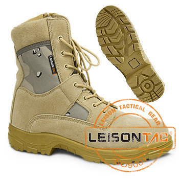 Military Desert Boots for Army Use with Military ISO standard