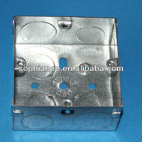 Galvanized telephone wall mounted junction box