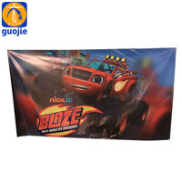 display beach billboard flex wall banner printing manufacturer