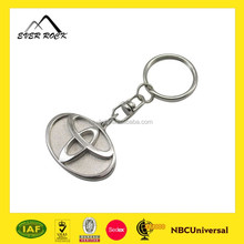 Hot Selling Metal Custom Car Plate Shaped Key Chain