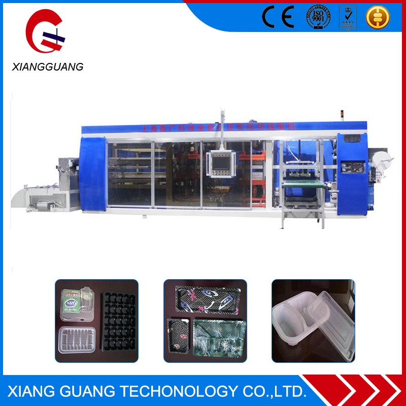 High Performance Automatic Plastic thermoforming machine for food packaging